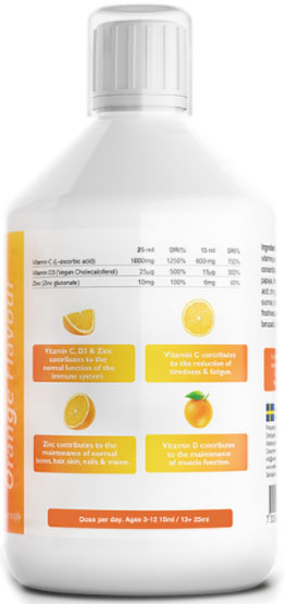 vitamin c and d info